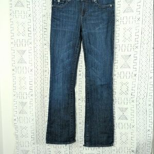 4/$30 Kut from the Kloth Denim Bootcut Jeans Flap